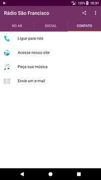 Rádio São Francisco screenshot 2