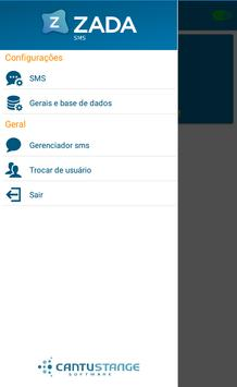 ZadaSMS apk screenshot