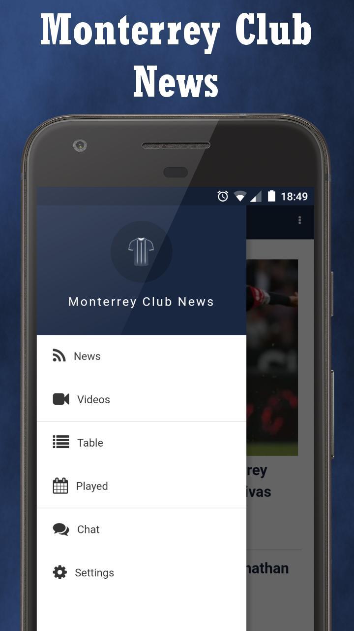 Monterrey Club News poster