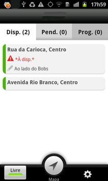 Capitania Radio Taxi - Taxista screenshot 1