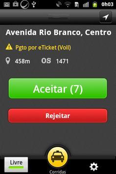 Capitania Radio Taxi - Taxista screenshot 2