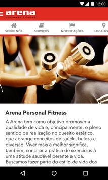 Arena Personal Fitness apk screenshot