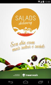Salads Delivery poster