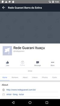 Rede Guarani - Barra da Estiva apk screenshot
