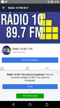 Rádio 10 FM 89,7 screenshot 1
