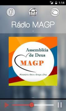 Rádio MAGP poster