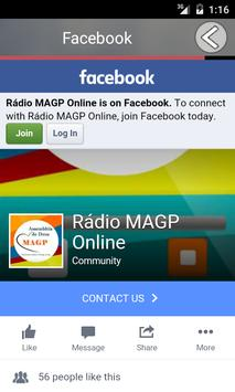 Rádio MAGP apk screenshot