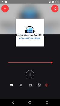 Rádio Messias FM 87,9 poster