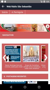 Web Rádio São Sebastião (Ipu-CE) screenshot 2