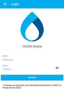 CESAN Mobile poster