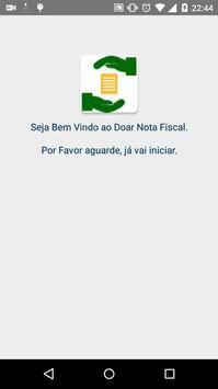 Doar Nota Fiscal poster