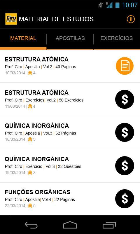 Ciro Química For Android Apk Download