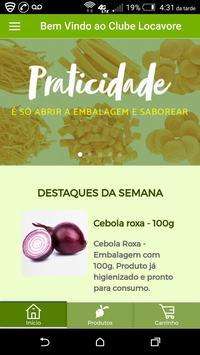 Clube Locavore poster