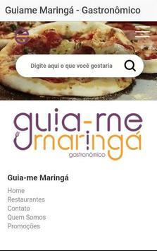 GuiaMe Maringá -- Gastronômico poster