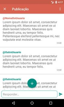 Amigo Virtual - Desabafo Anônimo e Novas Amizades apk screenshot