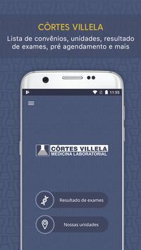 Laboratório Côrtes Villela Cartaz