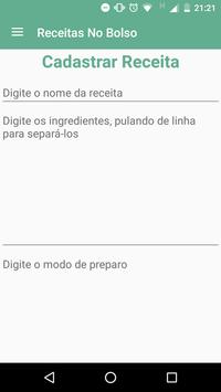 Receitas No Bolso apk screenshot