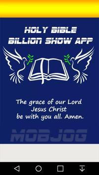 Holy Bible Billion Show apk screenshot