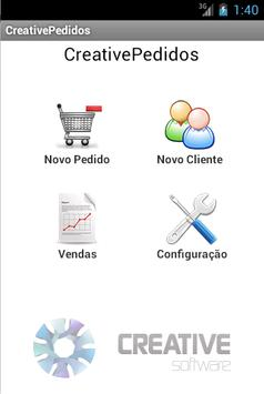 Creative Pedidos V2 poster