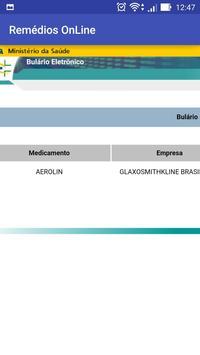 Remédios onLine screenshot 4