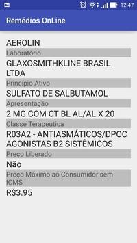 Remédios onLine screenshot 3