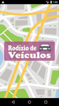 Rodízio Municipal de Veículos SP poster