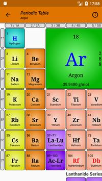 Periodic Table of Chemical Elements - Modern PTE screenshot 1