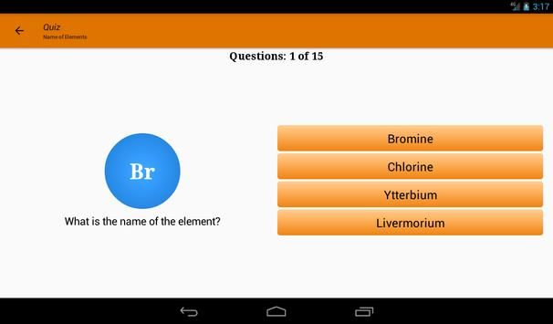 Periodic Table of Chemical Elements - Modern PTE screenshot 23