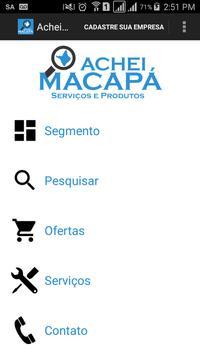 Achei Macapá poster