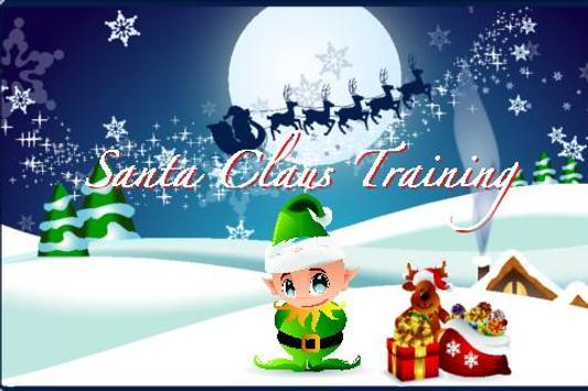 Santa's Training poster
