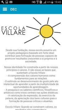 Escola Villare apk screenshot
