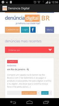 Denúncia Digital screenshot 3