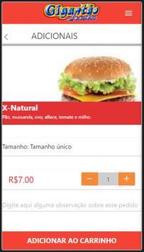 Gigantão Lanches apk screenshot