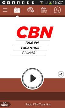 Rádio CBN Tocantins poster