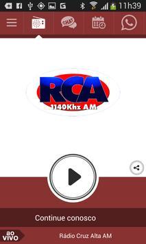 Rádio Cruz Alta AM poster
