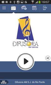 Difusora AM S.J. do Rio Pardo poster