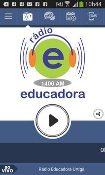 Rádio Educadora Urtiga poster