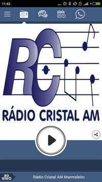 Rádio Cristal AM Marmeleiro poster