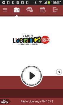 Rádio Liderança FM 103.3 poster