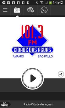 Rádio Cidade das Águas poster