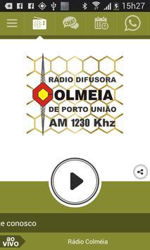 Rádio Colméia de Porto União poster