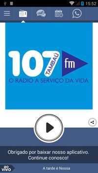 107 FM Tambaú poster