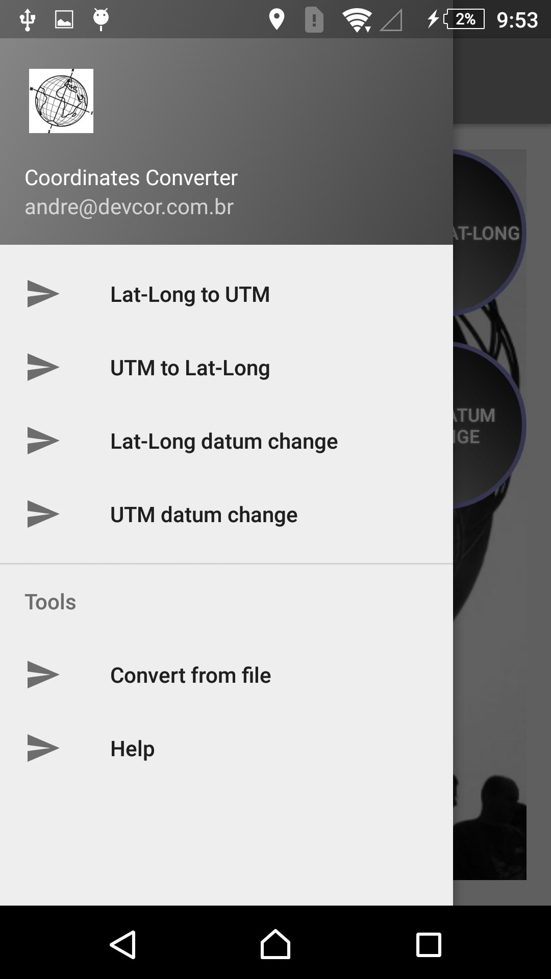 Coordinates Converter for Android - APK Download