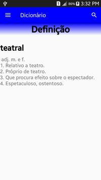 Dicionário Língua Portuguesa Ekran Görüntüsü 2
