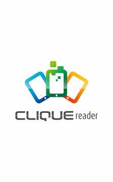 CLIQUEreader poster