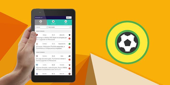 Tabela do Brasileirão 2018 apk screenshot