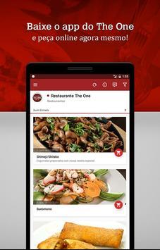 The One Restaurante - Boituva apk screenshot