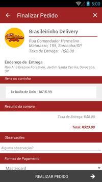 Brasileirinho Delivery screenshot 4