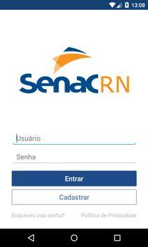 Idiomas Senac RN poster