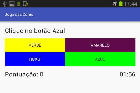 Jogo das Cores apk screenshot
